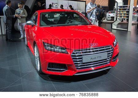 Audi Tts On Display
