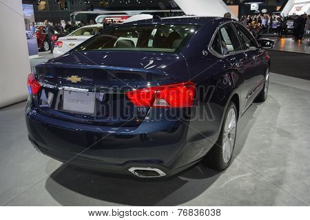 Chevrolet Impala Ltz 2015 On Display