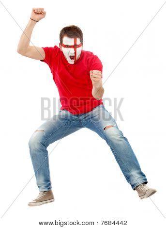 English Man Jumping
