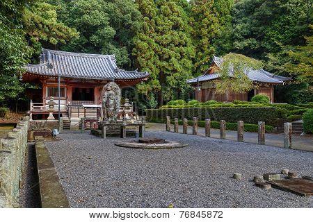 Fudo Hall at Daigoji temple in Kyoto