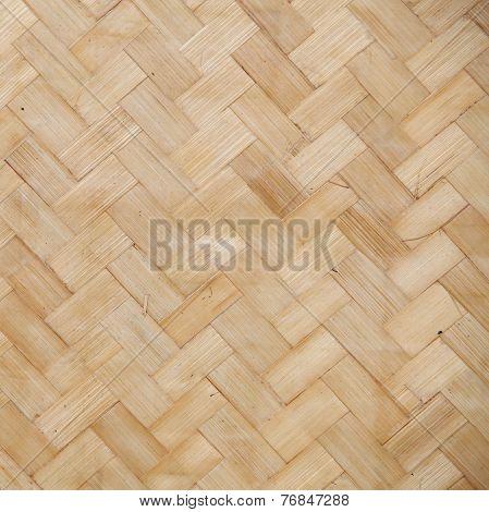 Straw Background, Basket Weave, Texture.