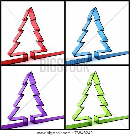3D Christmas Tree Concept