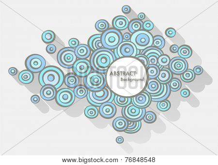 Doodle abstract background with space for Your text