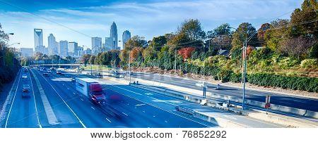 Autumn In Charlotte City Qc Of North Carolina