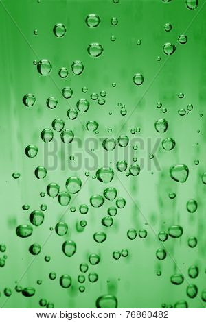 Water bubbles as background