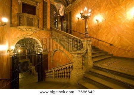 palace staircase