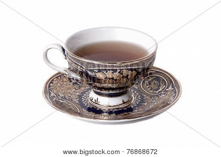 Teacup Full Of Tea