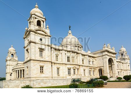 Victoria Memorial in Kolkatta, India