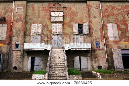 Deserted Factory Building
