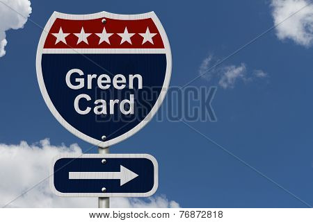 Green Card This Way