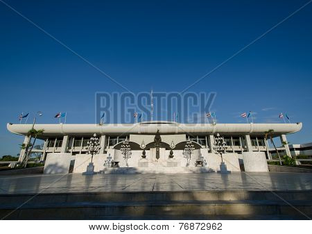 Parliament House of Thailand.