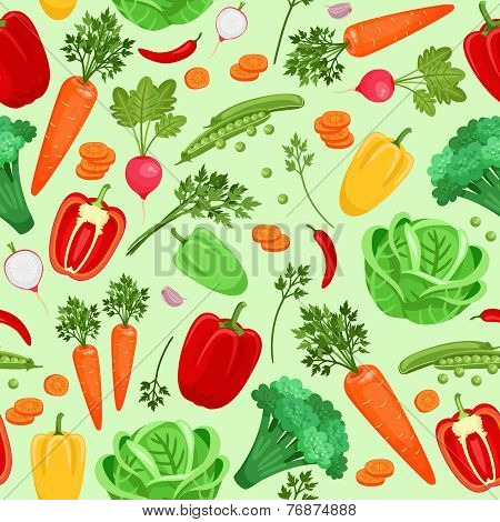 Vegetables background for vegetarian menu and cooking