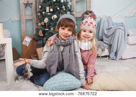 Little Happy Children