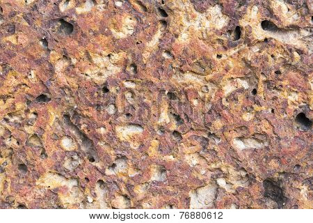 red rock texture