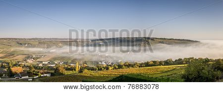Loire Valley Mist Panorama