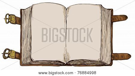 Book - Hand Drawn Background