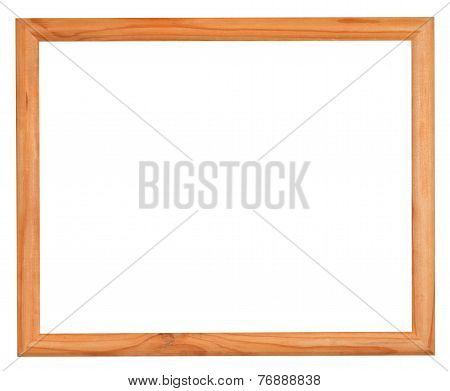 Ordinary Narrow Picture Frame With Cutout Canvas