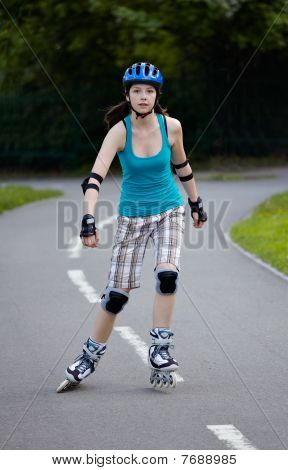 Rollerblade girl III.