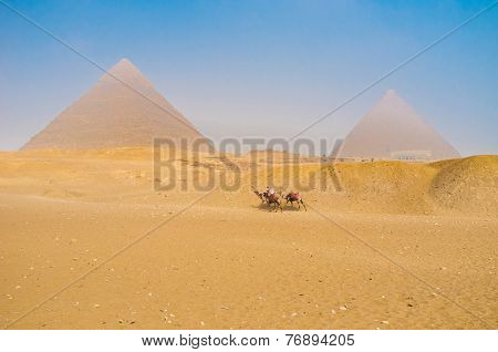 The Travel To Giza