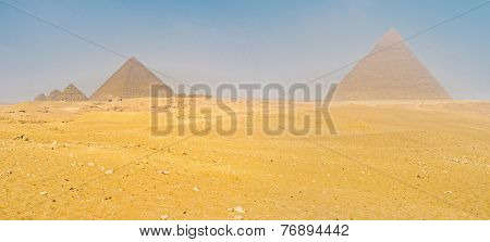 The Tombs In Desert