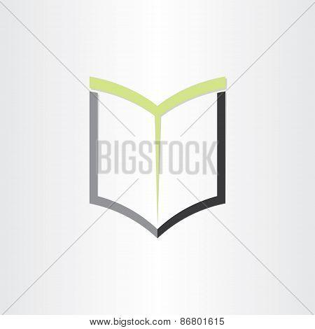 Book Or Notebook Reading Icon Design