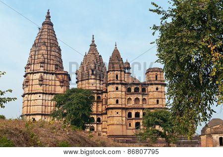 Chaturbhuj Temple In Orchha.
