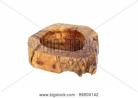 Wooden Ashtray