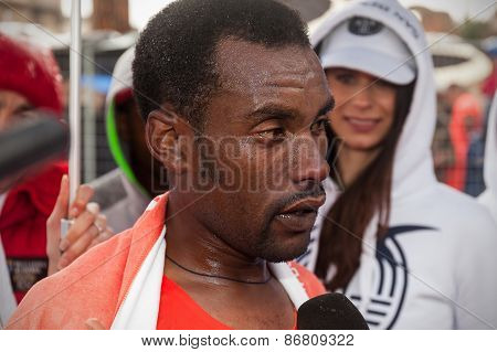 Abebe Degefa, Winner Of The 21Th Rome Marathon
