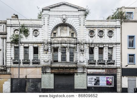 Derelict Picture House - Liverpool