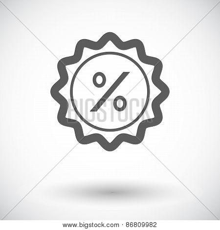 Percent label