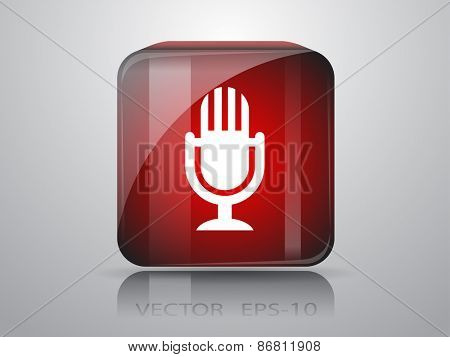 icon of microphone
