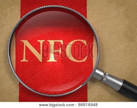 NFC through Magnifying Glass.