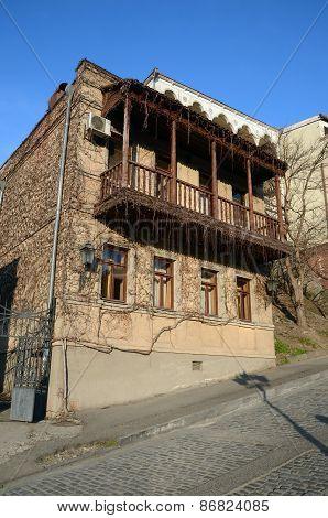 Tbilisi, famous Georgian artist Helena Akhvlediani Street