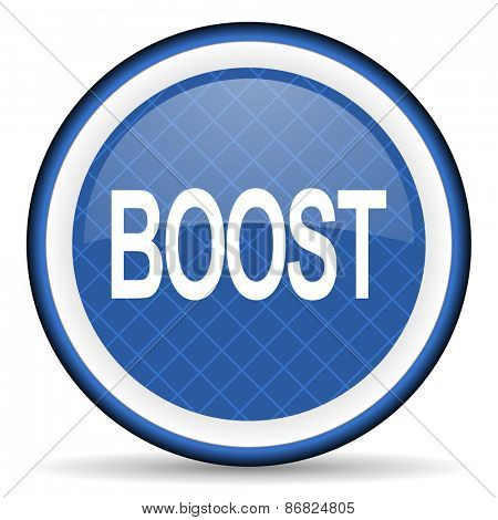boost blue icon