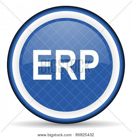 erp blue icon