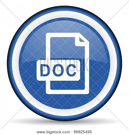 doc file blue icon