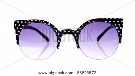 Black And White Peas glasses