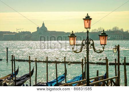 Beautiful view on Venice - travel, romantic city.