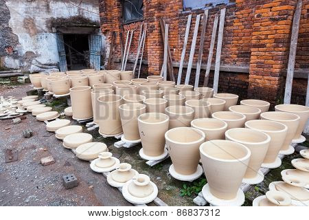 Drying Porcelain Blanks