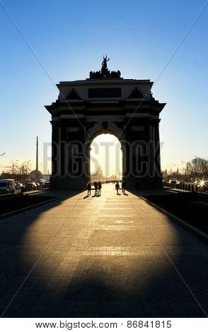 triumphal arch in Moscow