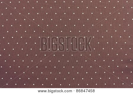 Background Of Terracotta Color With Round Specks