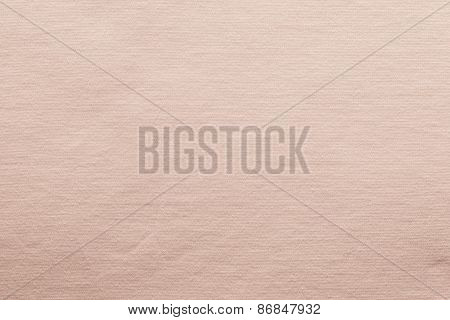 Small Knitted Texture Fabric Of Pale Pink Color