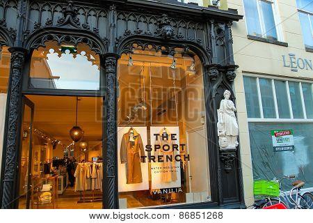 Showcase Clothing Store
