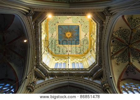 Dome  In The Cathedral Dutch City Of Den Bosch