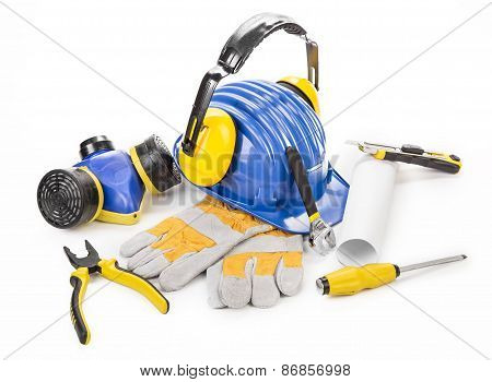 Various working equipment.