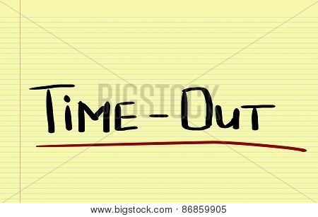 Time Out Concept