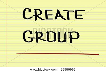 Create Group Concept