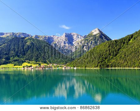 Achensee Lake in Tirol, Austria, Central Europe