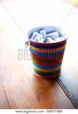 paper bucket