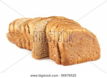 Sliced toast bread composition